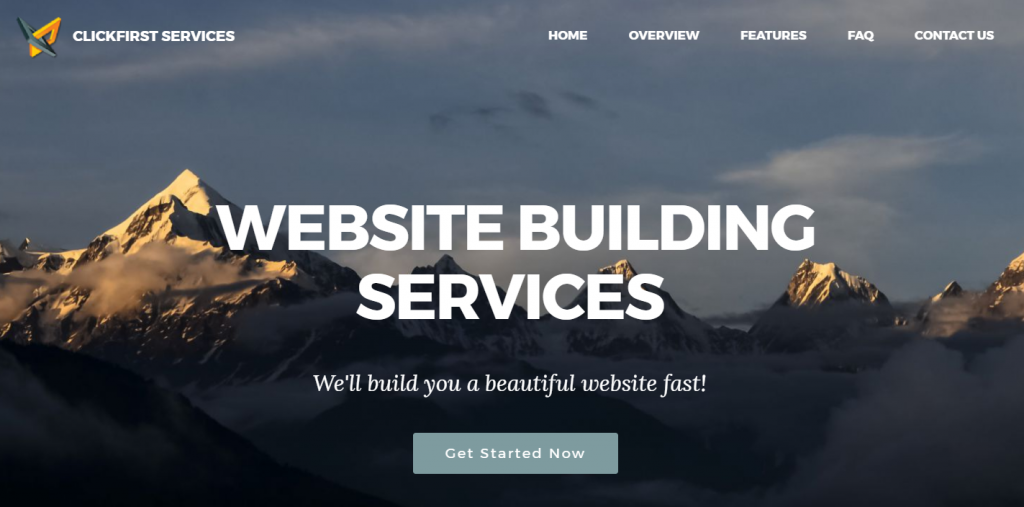Create Small Business Website
