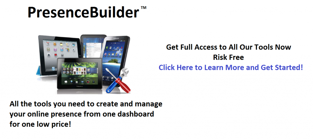 Online Presence Builder - Get Found Online Today
