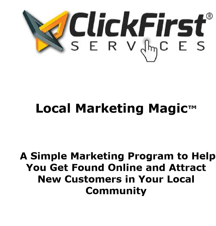 Local Marketing Magic Program E-Book